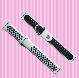 Sport Band Compatible for Apple watch Sand black